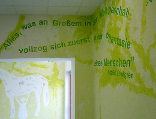 Hommage an Astrid Lindgren, Kunst-am-Bau