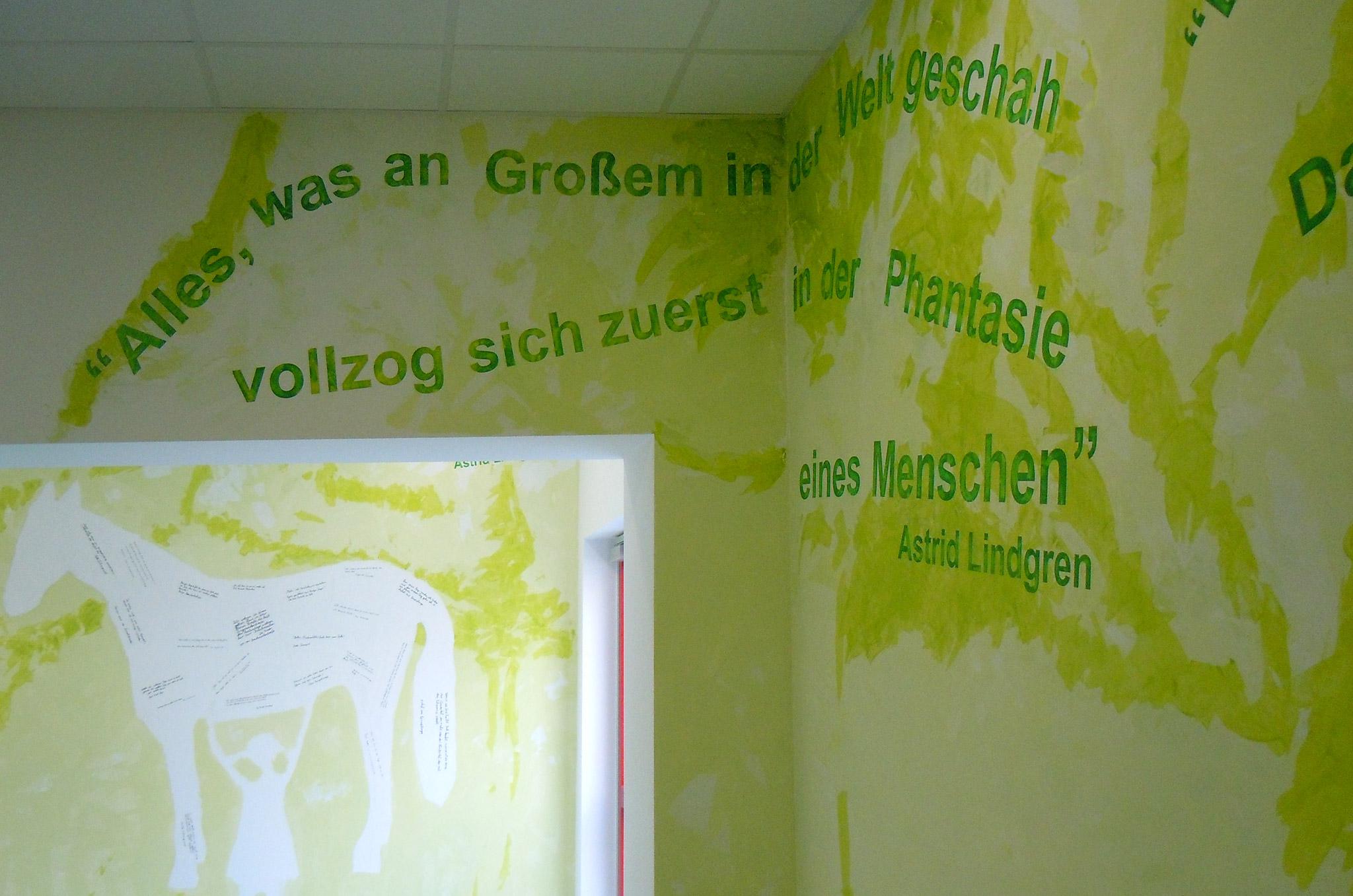 Hommage an astrid lindgren kunst am bau tanja corbach for Raumgestaltung partizipation